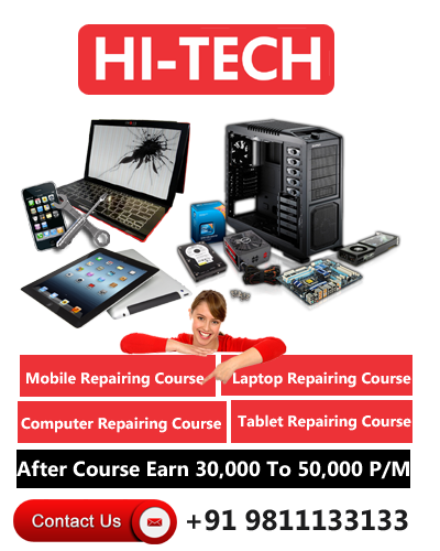 Mobile Repairing Course in Delhi   Call 9811133133   Laptop